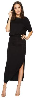 American Rose Daniella Short Sleeve Maxi Dress Women's Dress