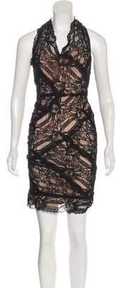 Nicole Miller Midi Lace Dress w/ Tags