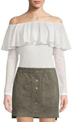 BCBGMAXAZRIA Off-The-Shoulder Bodysuit