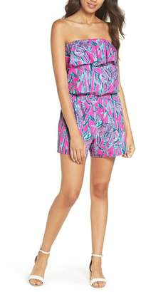 Lilly Pulitzer R) Anja Sleeveless Romper