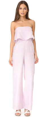 Mara Hoffman Strapless Jumpsuit $350 thestylecure.com