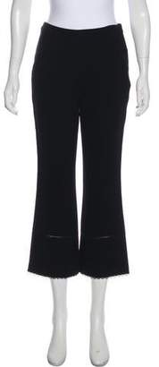 Rachel Zoe 2018 High-Rise Cropped Pants