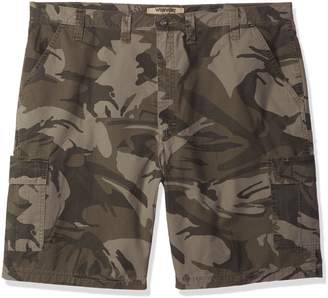 Wrangler Authentics Men's Big and Tall Classic Relaxed Fit Cargo Short