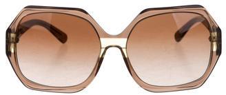 Tory BurchTory Burch Geometric Logo Sunglasses