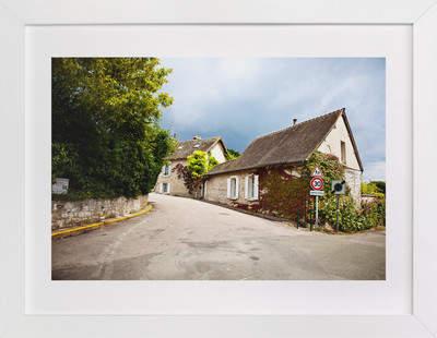 Giverny Road Art Print