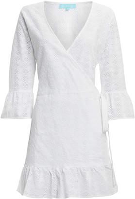 Melissa Odabash Vogue White Eyelet Coverup Dress