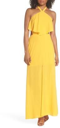 Ali & Jay Beach Club Afternoons Halter Maxi Dress