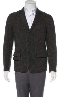 Marc Jacobs Tweed Wool Blazer