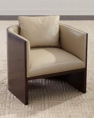 John-Richard Collection John Richard Collection Lynbrook Leather Tub Chair