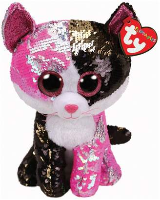 Ty Uk Flippable Sequin Cat Toy