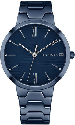 Tommy Hilfiger Women's Blue Stainless Steel Bracelet Watch 36mm