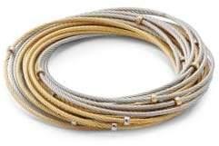 Alor Classique 18K Gold & Stainless Steel Multi-Strand Bracelet