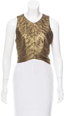 Torn By Ronny Kobo Matelassé Sleeveless Top