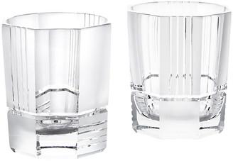 Ralph Lauren Home Mercer Crystal DOF Glasses - Set of 2