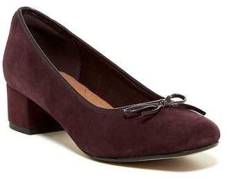 Clarks Chartli Daisy Suede Pump - Wide Width Available