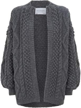 I Love Mr Mittens Wool Knitted Cardigan