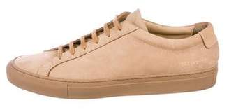 Common Projects Achilles Nubuck Sneakers