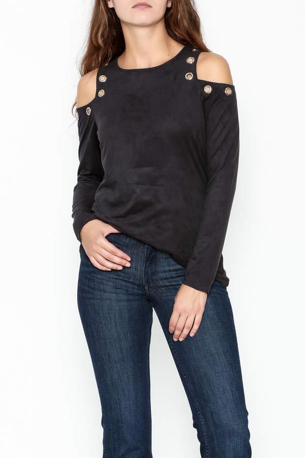Kay Celine Farrah Cold Shoulder Top