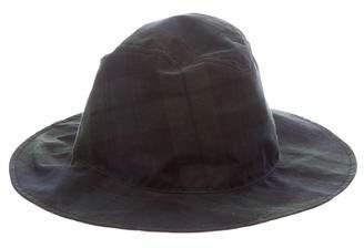 Maison Michel Enrico Plaid Hat w/ Tags