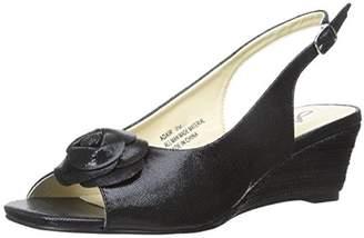 Annie Shoes Women's Adair Espadrille Wedge Sandal $12.82 thestylecure.com