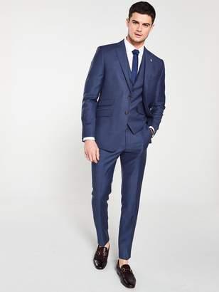 Ted Baker Sterling Birdseye Suit Jacket - Blue