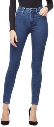 Good American Good Waist Blue205 Jeans