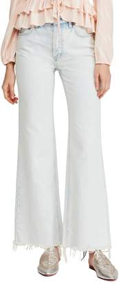 Free People High Waist Flare Jeans