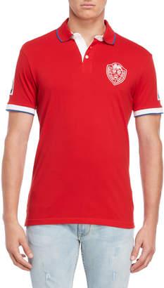 Gaudi' Gaudi Jeans Red Short Sleeve Polo