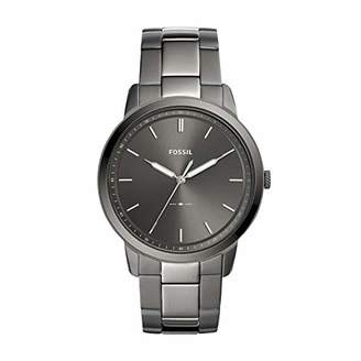 Fossil Men's 'The Minimalist 3H' Quartz Stainless-Steel-Plated Casual Watch
