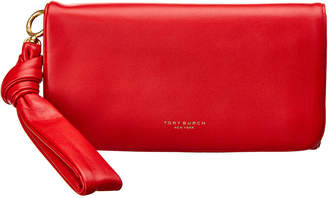 Tory Burch Gift Giving Smooth Leather Wristlet