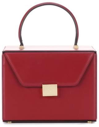 Victoria Beckham Vanity Box leather tote