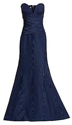 Oscar de la Renta Women's Strapless V-Neck Mermaid Gown