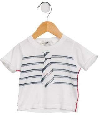 Jean Paul Gaultier Boys' Short Sleeve Graphic Shirt