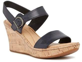 Børn Boulder Platform Wedge Leather Sandal