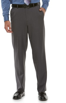 Croft & Barrow Men's Classic-Fit Flat-Front Essential Dress Pants