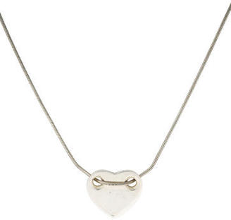 Tiffany & Co. Sliding Heart Pendant Necklace $95 thestylecure.com