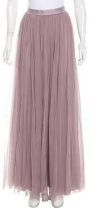 Needle & Thread Flared Maxi Skirt