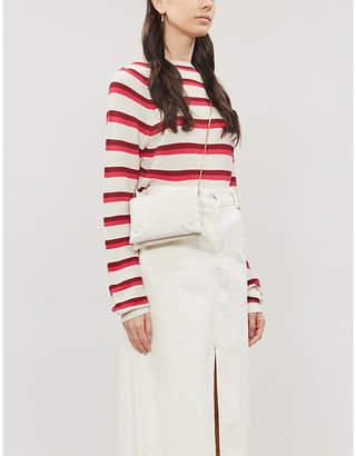 Samsoe & Samsoe Zande striped cotton-knit jumper