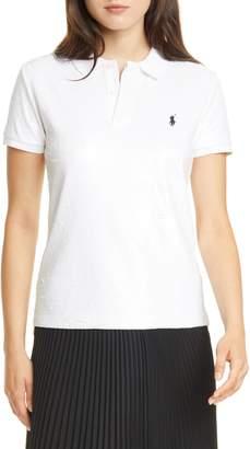Polo Ralph Lauren Sequin Polo Shirt