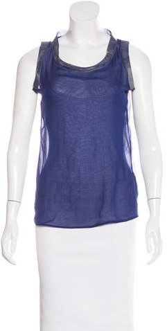 Bottega Veneta Bottega Veneta Sleeveless Silk Top w/ Tags