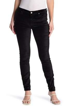 Black Orchid Gisele Velvet High Waisted Super Skinny Jeans