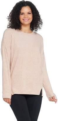 Cuddl Duds Fleecewear Stretch Long Sleeve Pullover Top