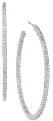 Kate Spade Pavé Large Hoop Earrings