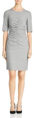 BOSS Dirafia Ruched Dress