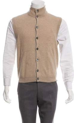 Brunello Cucinelli Cashmere Knit Vest