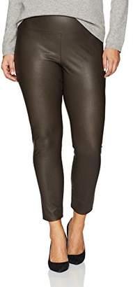 Lysse Women's Plus Size Vegan Leather Legging