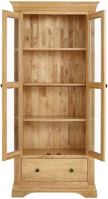 oak display cabinet shopstyle uk rh shopstyle co uk