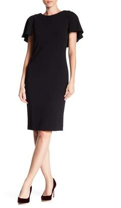 df2dfae526 ... Modern American Designer Caplet Sheath Dress