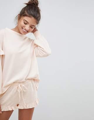 Hunkemoller Simplicity Lounge Ruffle Shorts