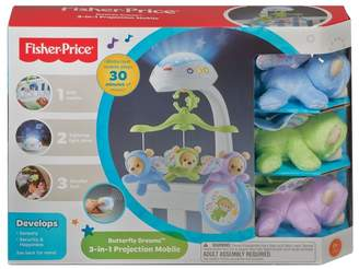 Fisher-Price Girls Butterfly Dreams 3-In-1 Projection Mobile